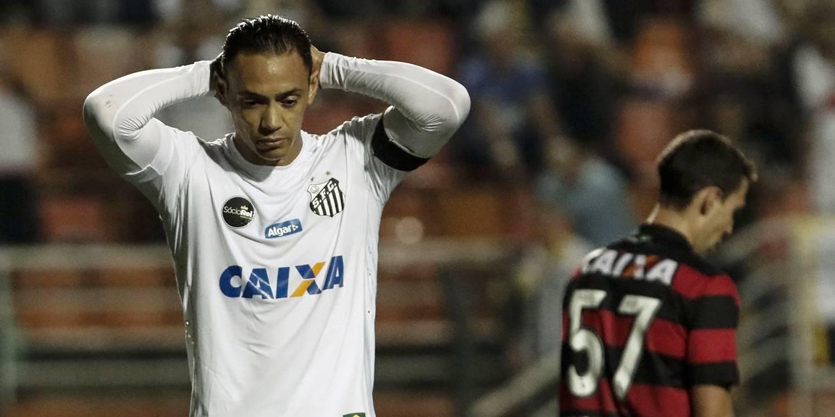 Ricardo Oliveira deve deixar o Santos e pode jogar em Belo Horizonte