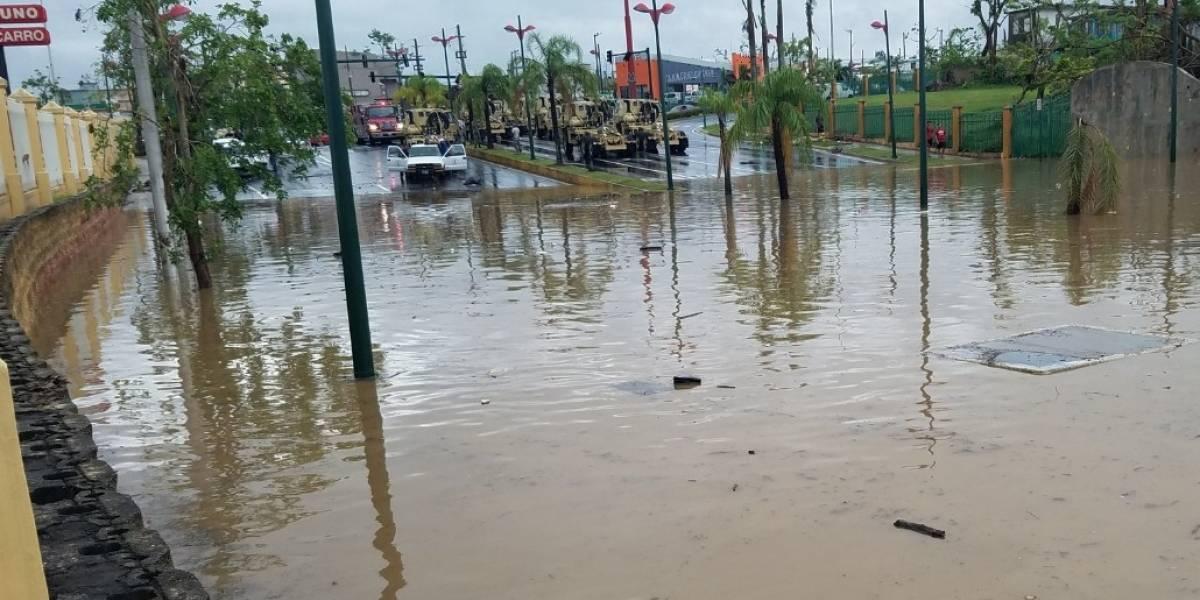 Inundaciones en Caguas tras persistentes lluvias