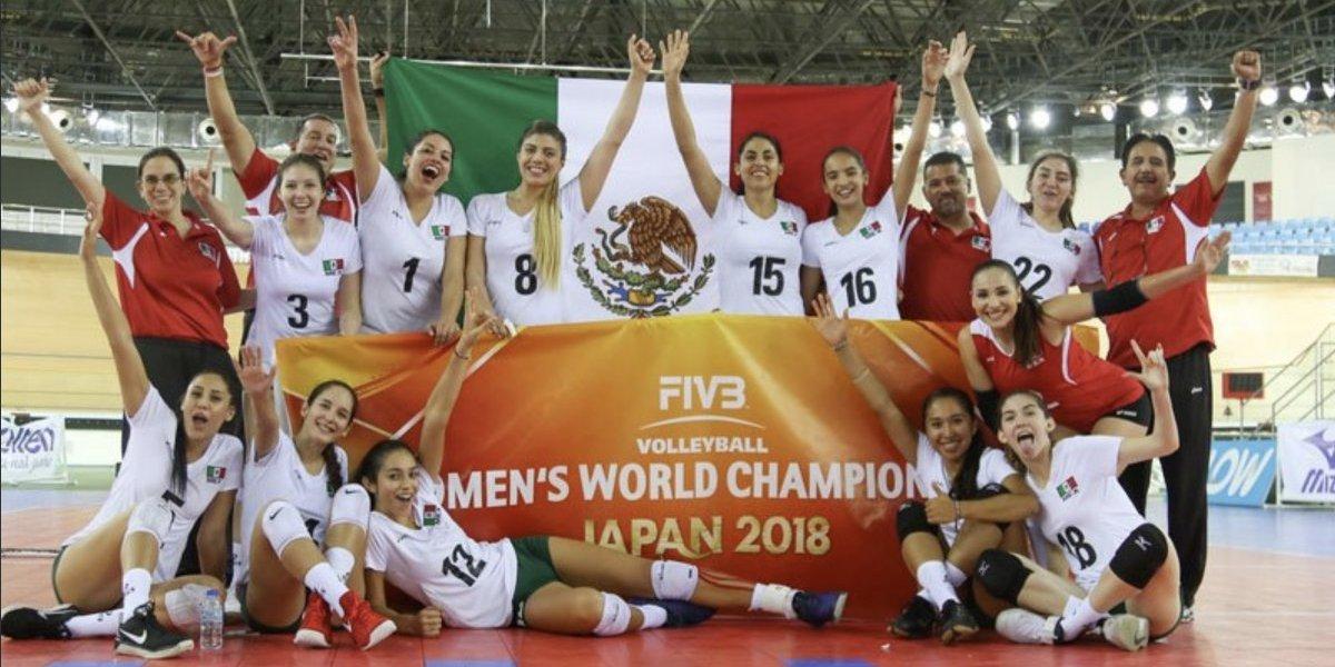 México se clasifica al Mundial Femenino de Voleibol en Japón