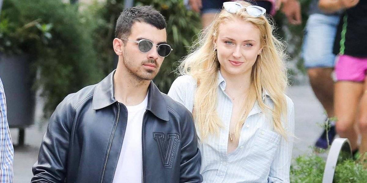 Joe Jonas y Sophie Turner se casan de sorpresa en Las Vegas y filtran el video