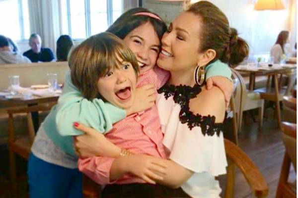 Thalia hijos