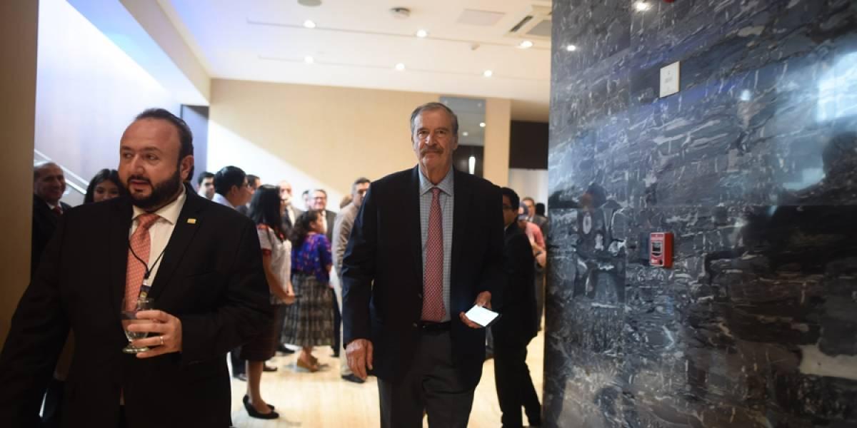 """Vicente Fox: """"El MP tiene que presentar pruebas suficientes para un desafuero contra Morales"""""""