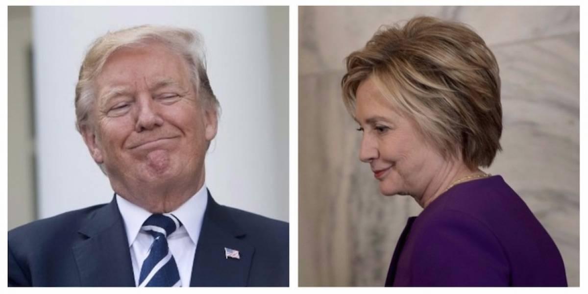 """VIDEO. Trump le """"suplica"""" a Hillary Clinton que vuelva a ser candidata"""