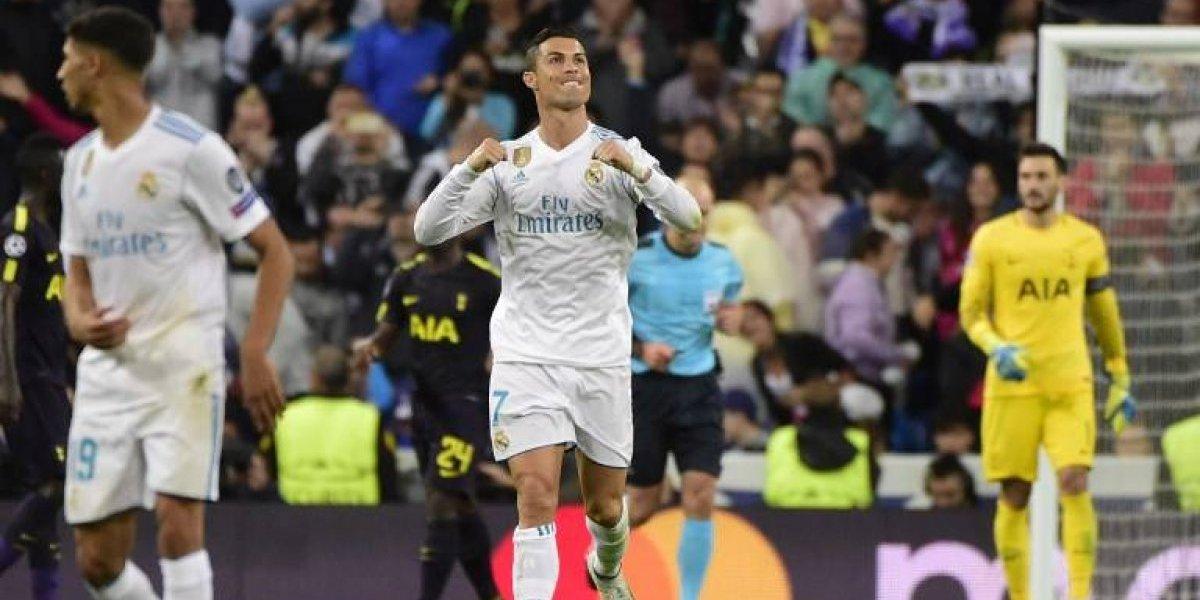 Un clásico penal de Cristiano le dio el empate al Madrid ante Tottenham y ambos acarician los octavos
