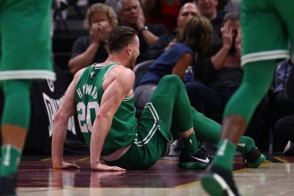 La temporada de Hayward en Boston Celtics no empezó nada de bien / imagen: AFP