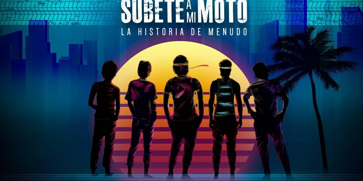 """""""Súbete a mi moto"""" contará la historia de Menudo"""