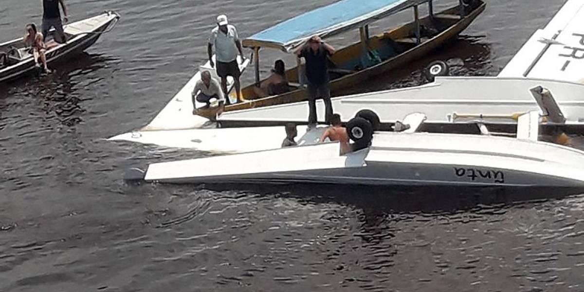 Avión de Greenpeace se estrella en la Amazonía y deja un muerto y cuatro heridos