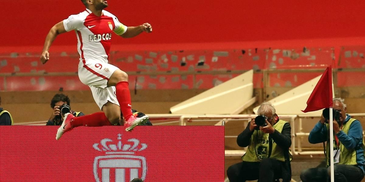 Pese al gol de Falcao, el AS Mónaco cayó ante el Besiktas