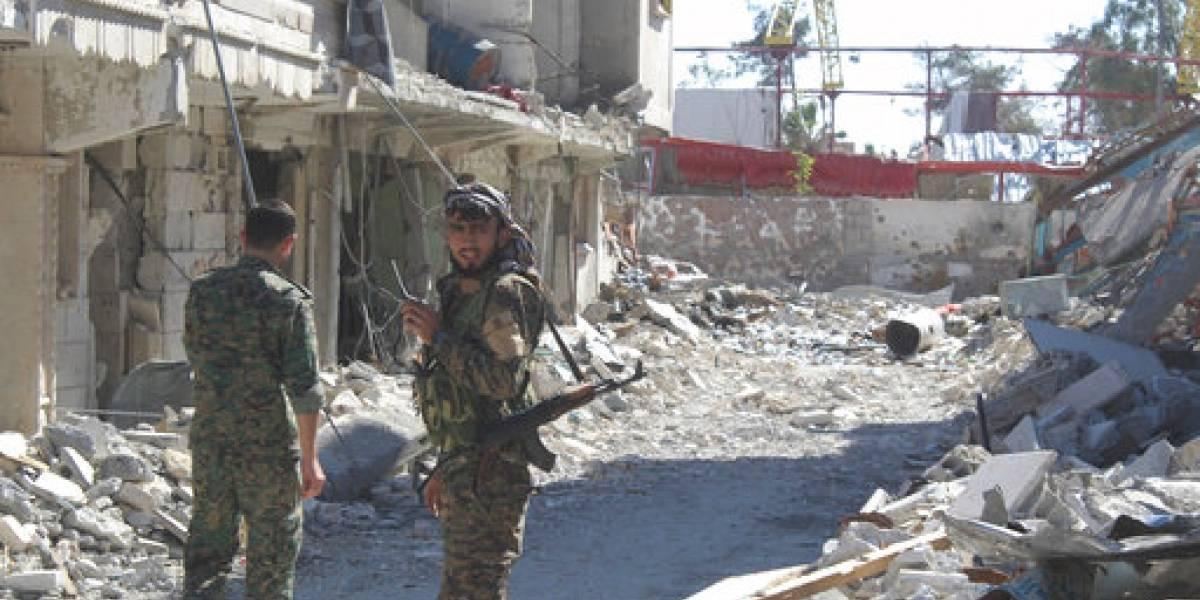Fuerzas kurdas anuncian la liberación de Raqqa