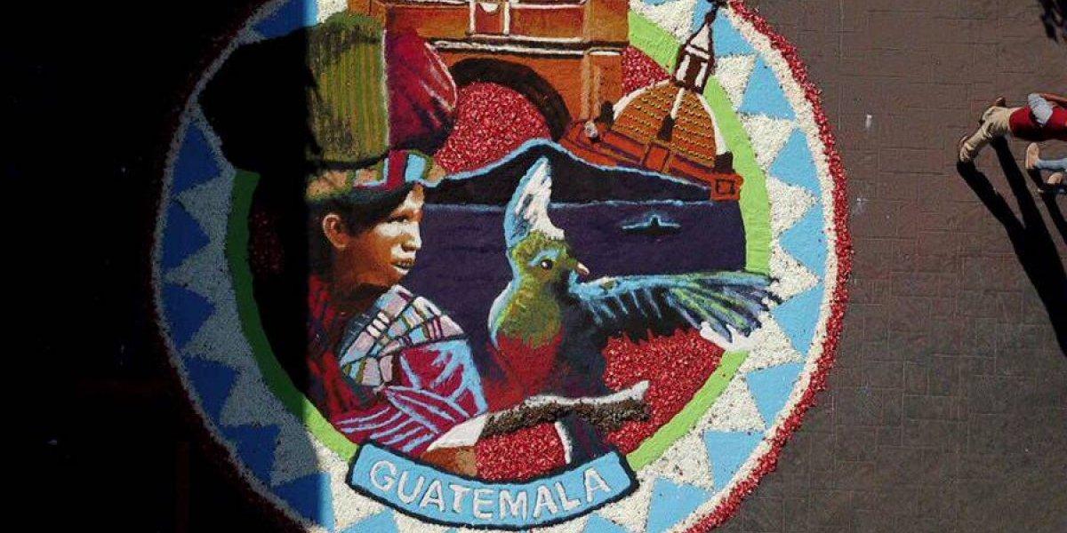 Guatemala fue representada en el II Encuentro Internacional de Alfombristas, en Guanajuato