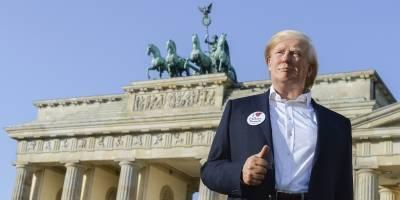 Figura de cera de Donald Trump