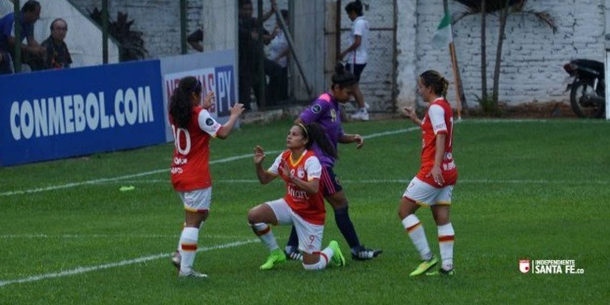 Santa Fe se juega su paso a segunda ronda en la Libertadores femenina