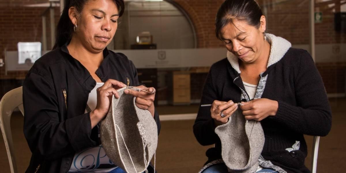 Bogotá rinde homenaje a la tradicional mochila Muisca