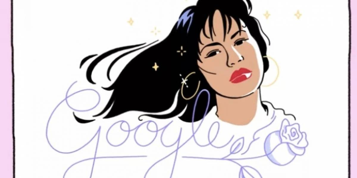 "Google homenajea a la cantante Selena Quintanilla con un ""Doodle"""