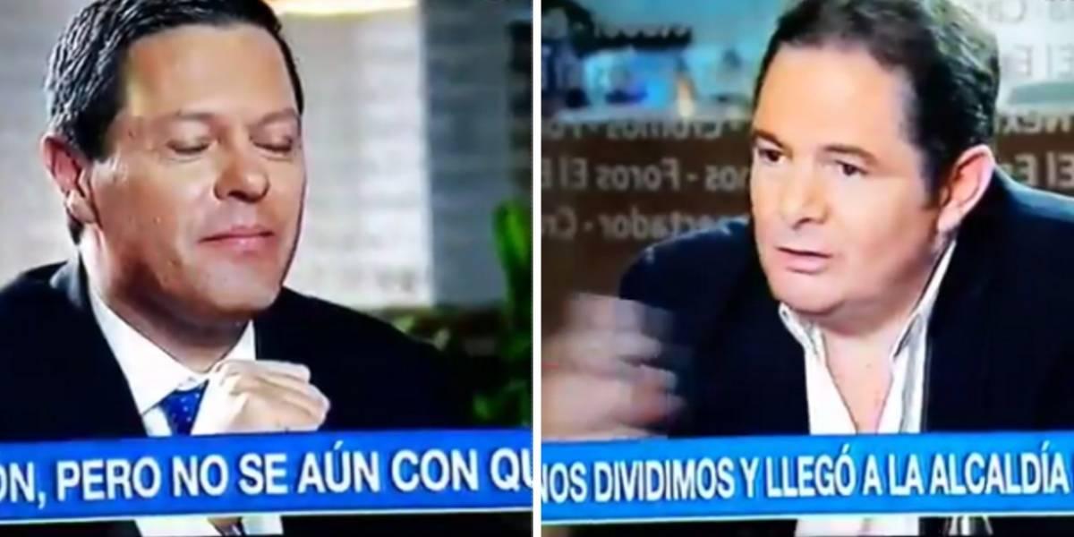 El 'vaciadón' de Germán Vargas Lleras a director de Noticias Caracol