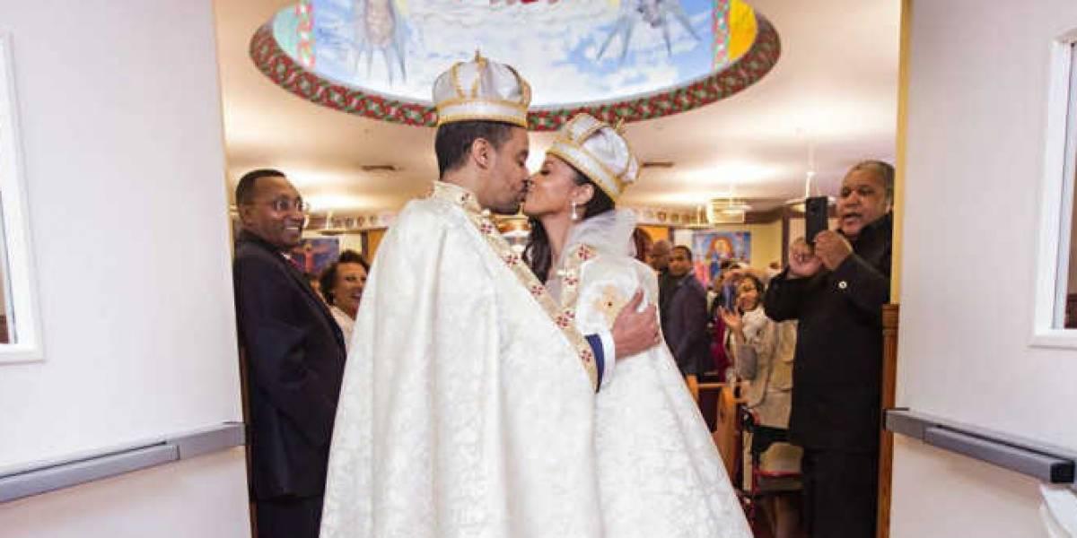 Americana realiza sonho e se casa com príncipe que conheceu na balada