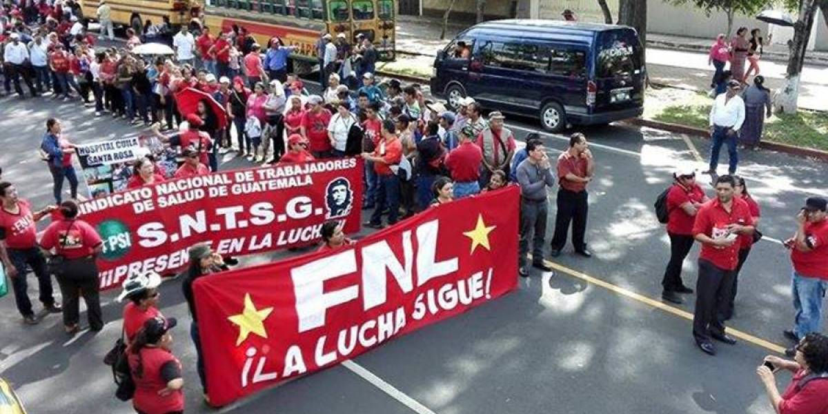 ¡Toma nota! Salubristas se concentrarán hoy en Avenida Bolívar desde las 7 de la mañana
