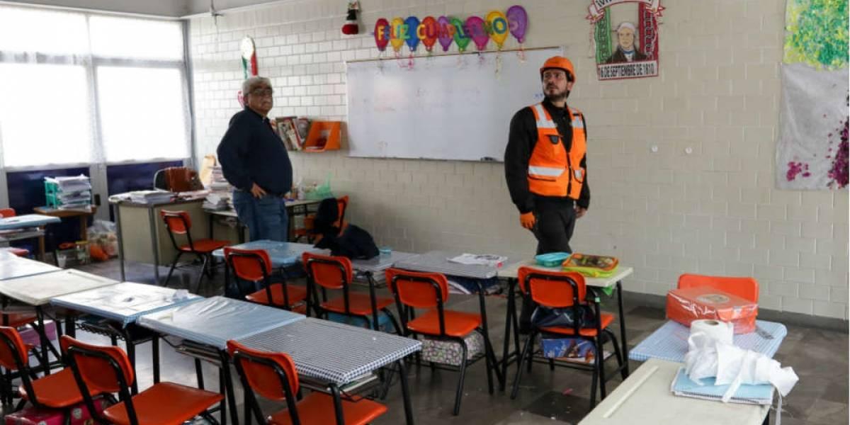 Demolerán nueve escuelas de la Ciudad de México
