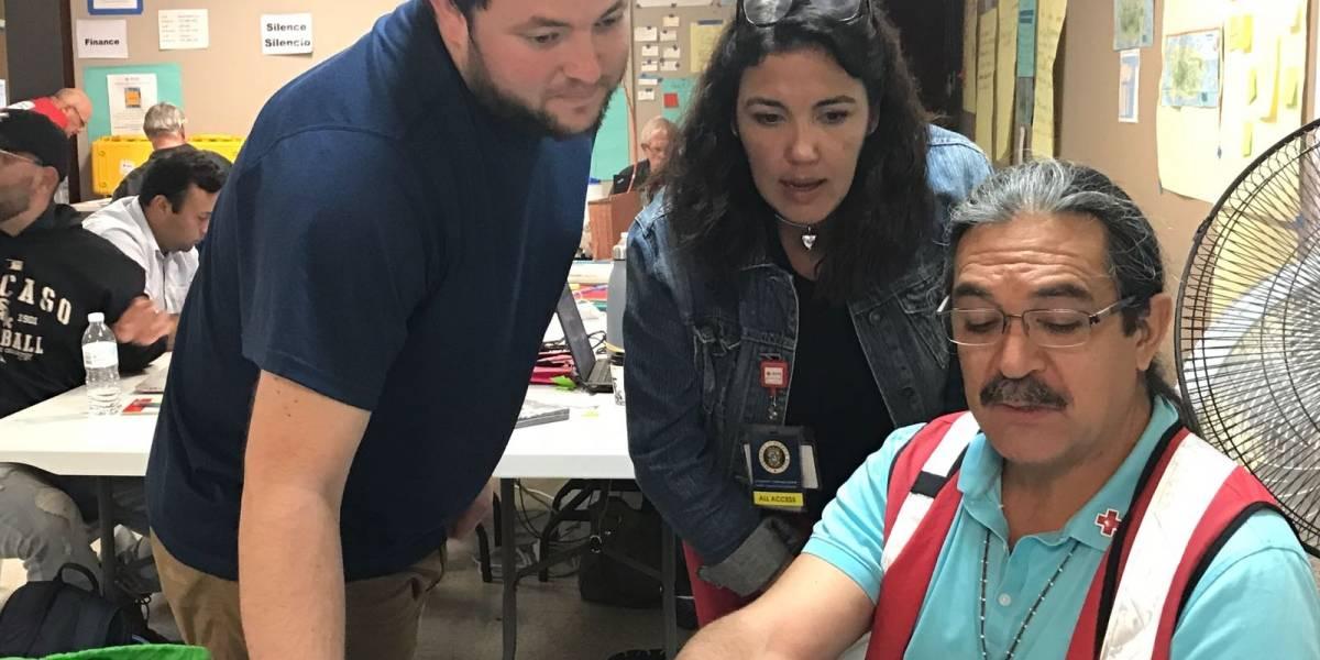 Cruz Roja, protagonista en la emergencia tras María