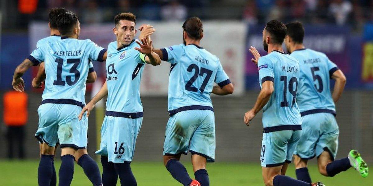 Porto sufre su segunda derrota en la Champions League