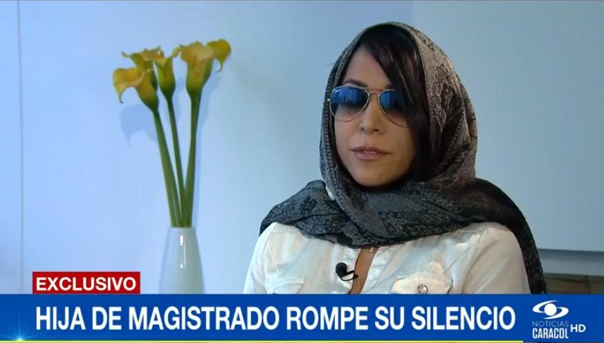 Por extorsión, le suspenden la visa americana a la hija del magistrado Malo