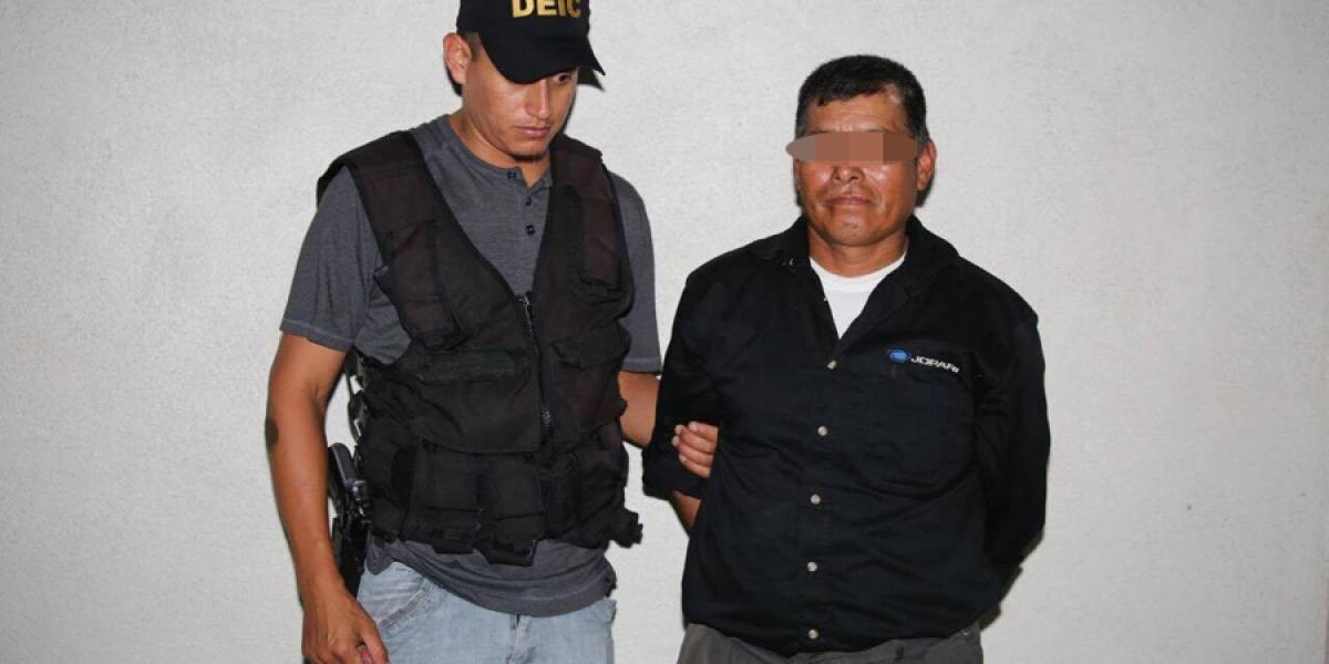Capturan por orden judicial a presunto responsable de violar a niña de 8 años