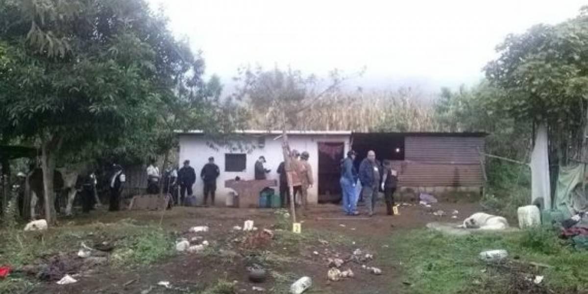 Condenan a hombre por masacrar a familia en Sacatepéquez
