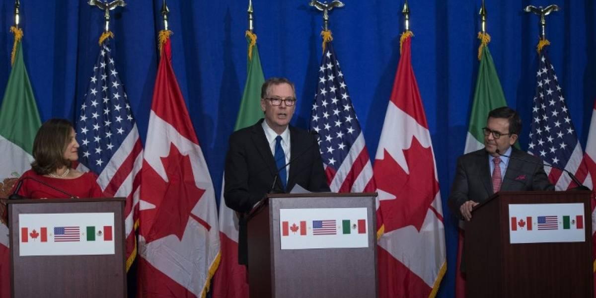 México y Canadá seguirán negociando sobre el TLCAN