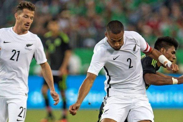 Nueva Zelanda va por una clasificación al Mundail de Rusia 2018 / imagen: www.photosport.nz