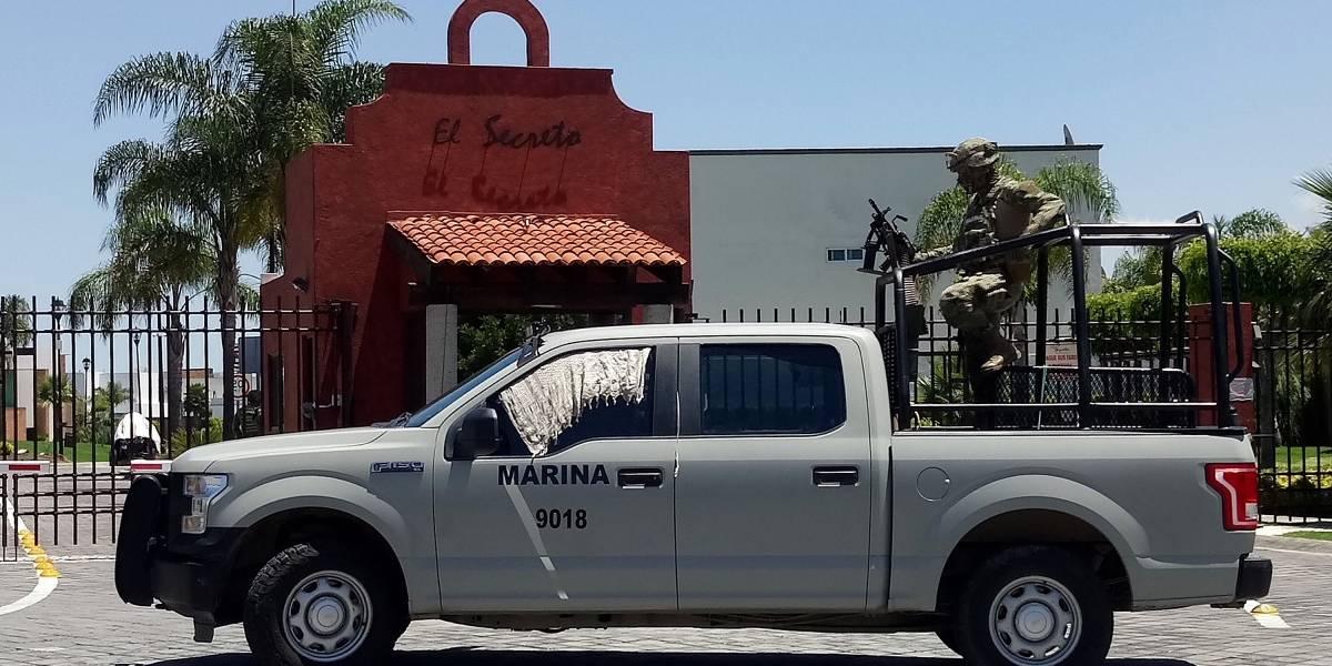 Marina abate a 'El Cacarizo' en Puebla