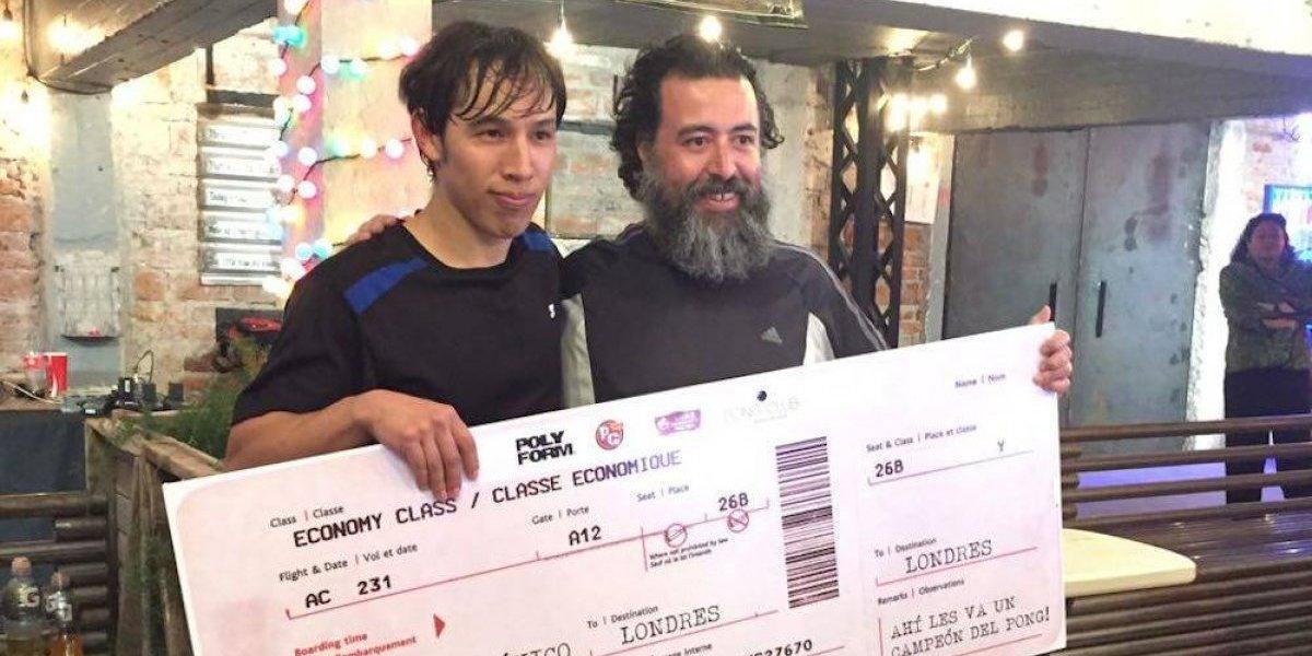 Pável Gutiérrez representará a México en el Campeonato Mundial de Ping Pong