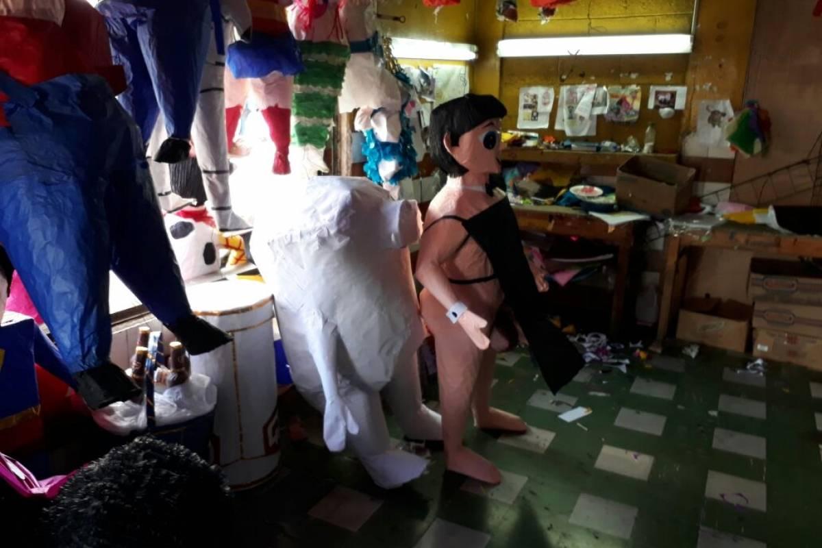 Piñata para despedida de soltera. Foto: Esvin López