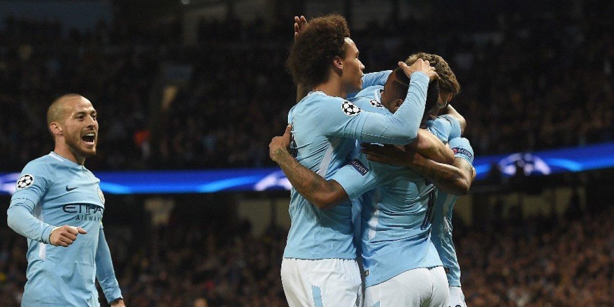 Manchester City consolida su liderato luego de vencer al Nápoles