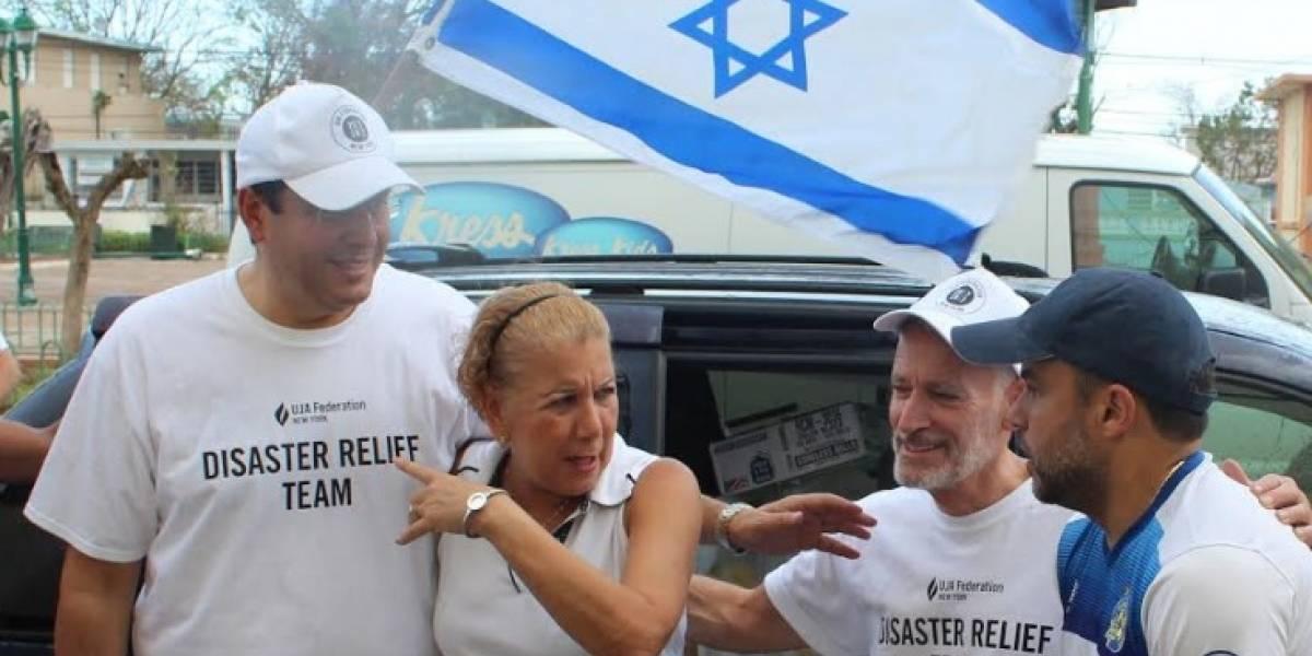 Agracedidos en Loíza con la comunidad judía
