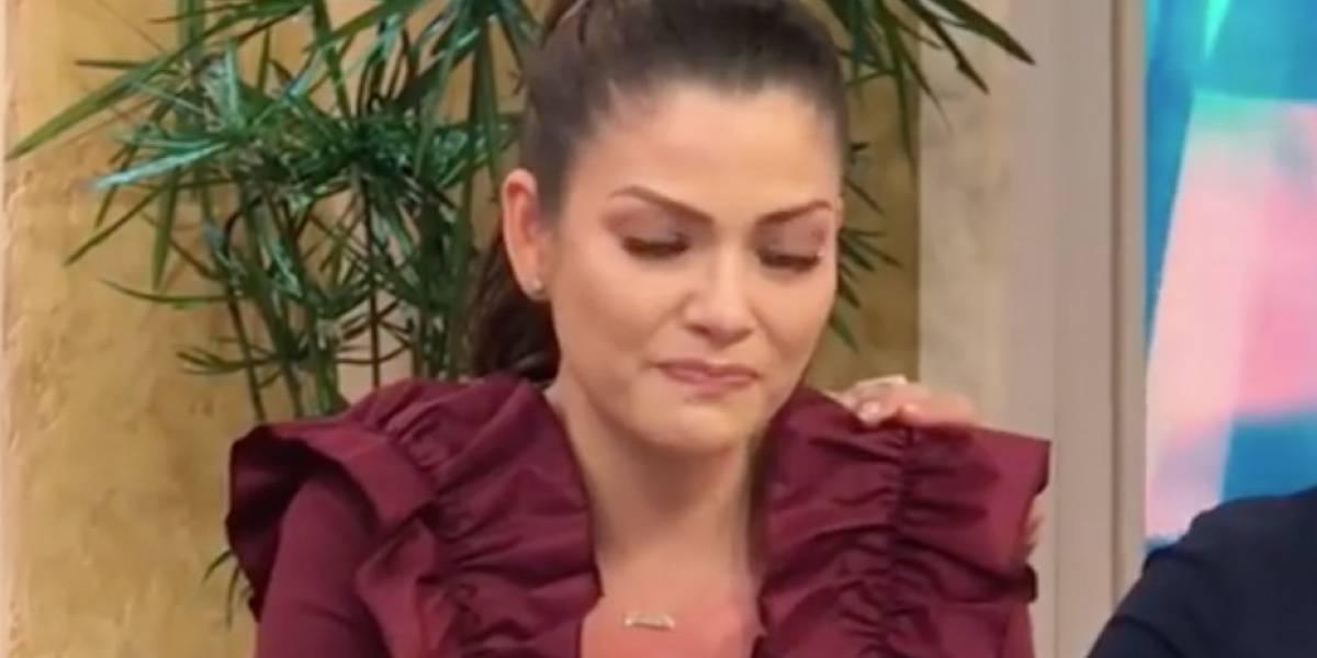 Ana Patricia pide disculpas entre lágrimas tras discusión en vivo