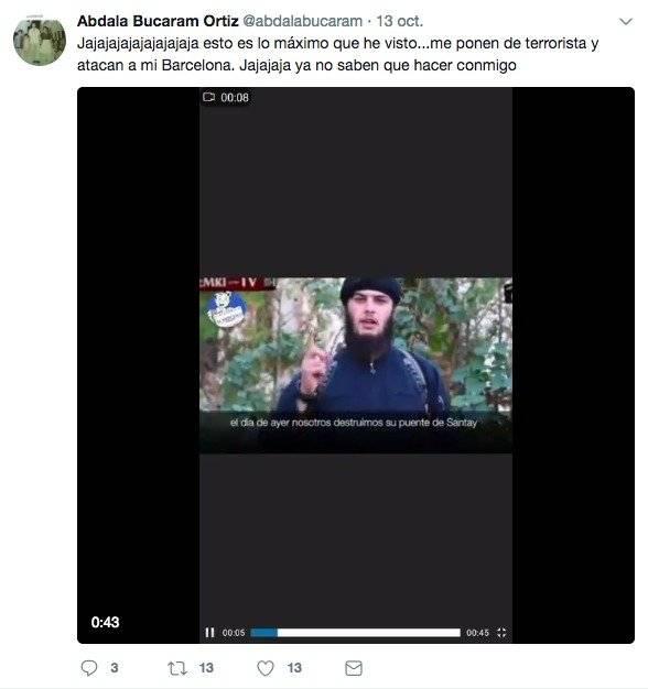 Twitter Abdala Bucaram reacciona a noticias del El Mercioco