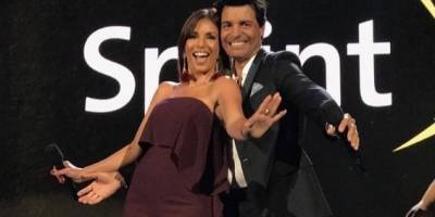 Giselle Blondet y Chayanne