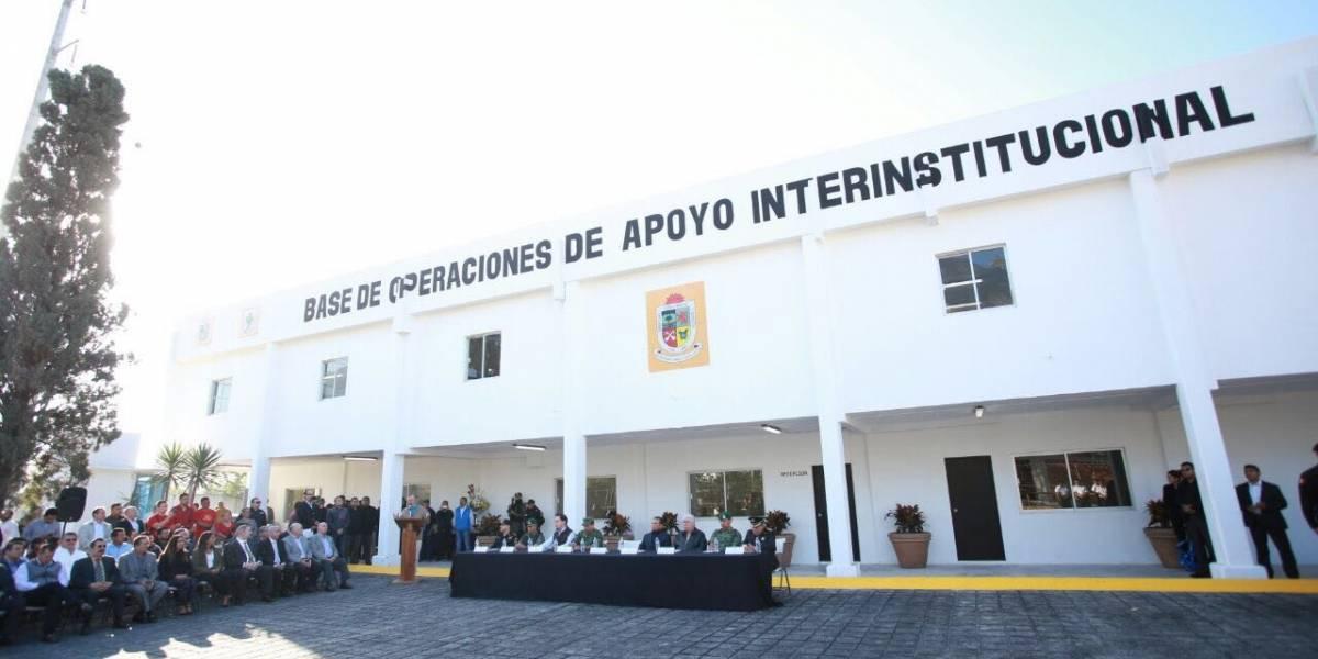 Inauguran nuevo fuerte policial en San Pedro, NL