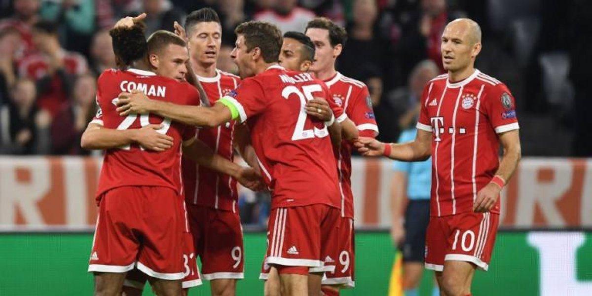 Arturo Vidal tuvo un cuidadoso regreso en aplastante victoria del Bayern en Champions
