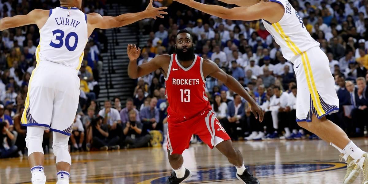 Rockets frustran celebración de Golden State como campeones