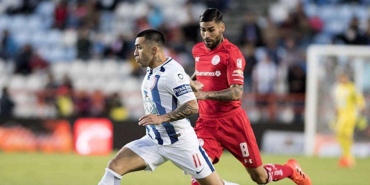 Toluca se mantiene en los primeros lugares tras empate con Pachuca