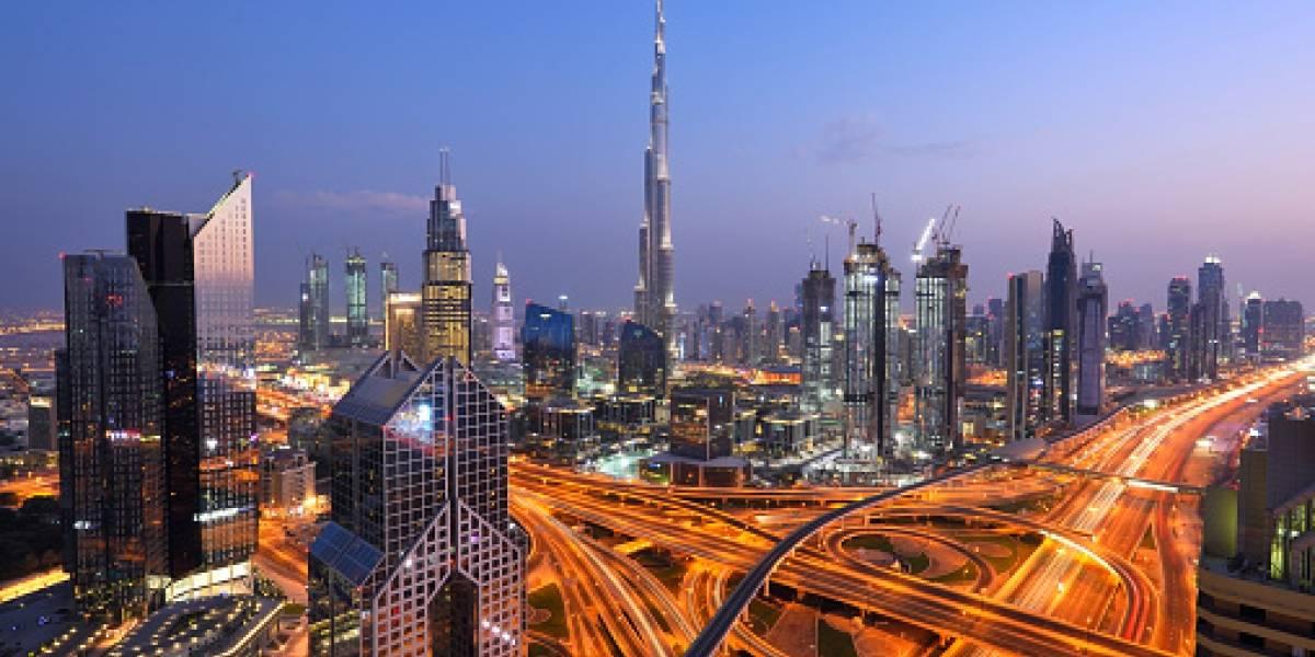 """Captan un supuesto """"meteorito"""" en Dubái"""