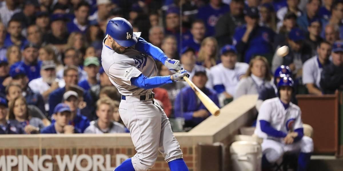 Dodgers quieren barrer a los Cubs y llegar a la Serie Mundial de Béisbol