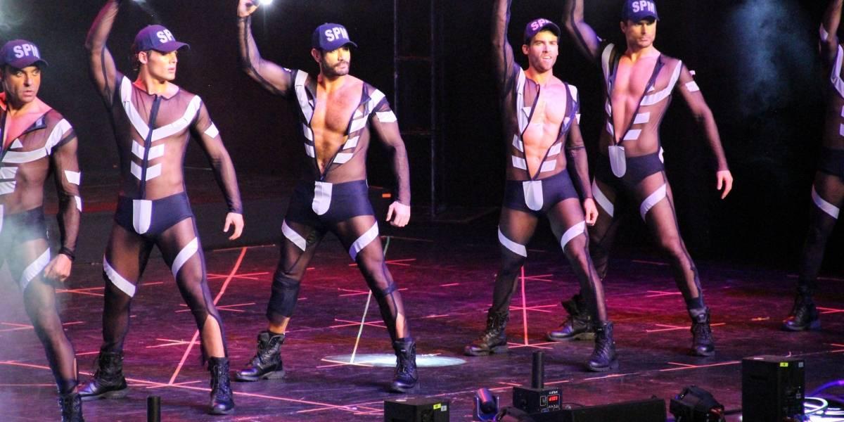 Así se vivió el sensual show de 'Sólo para mujeres'
