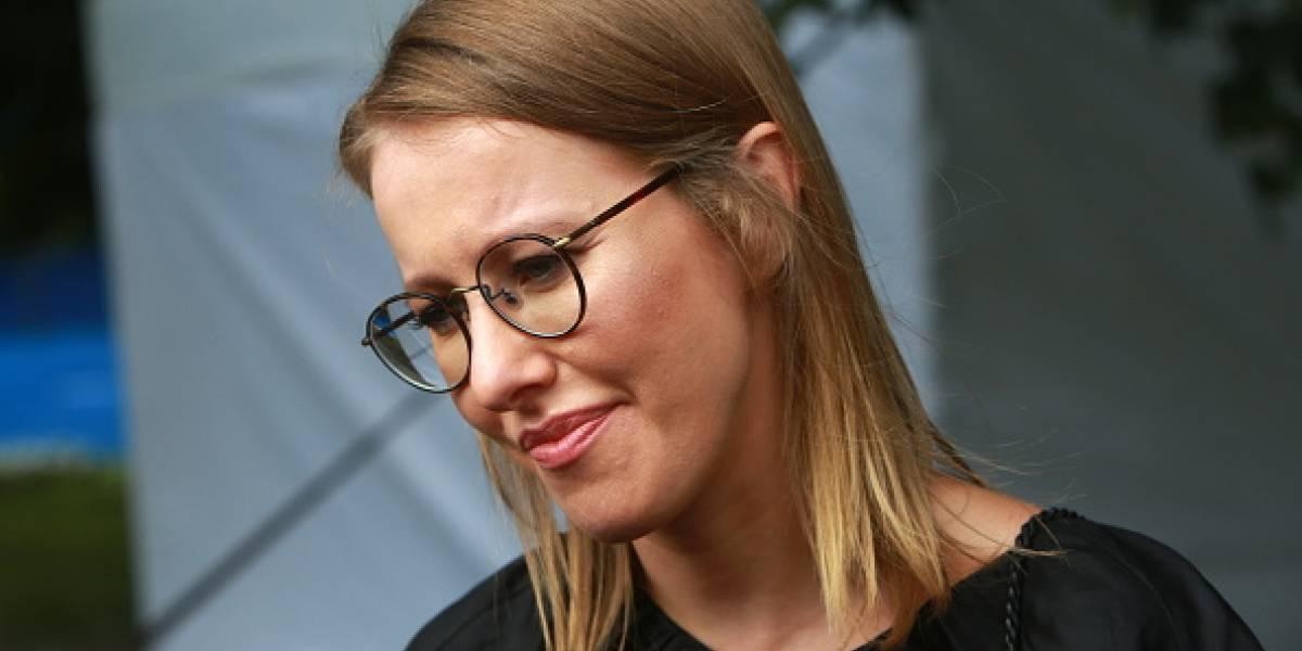 Presentadora de televisión anuncia su candidatura a la Presidencia de Rusia