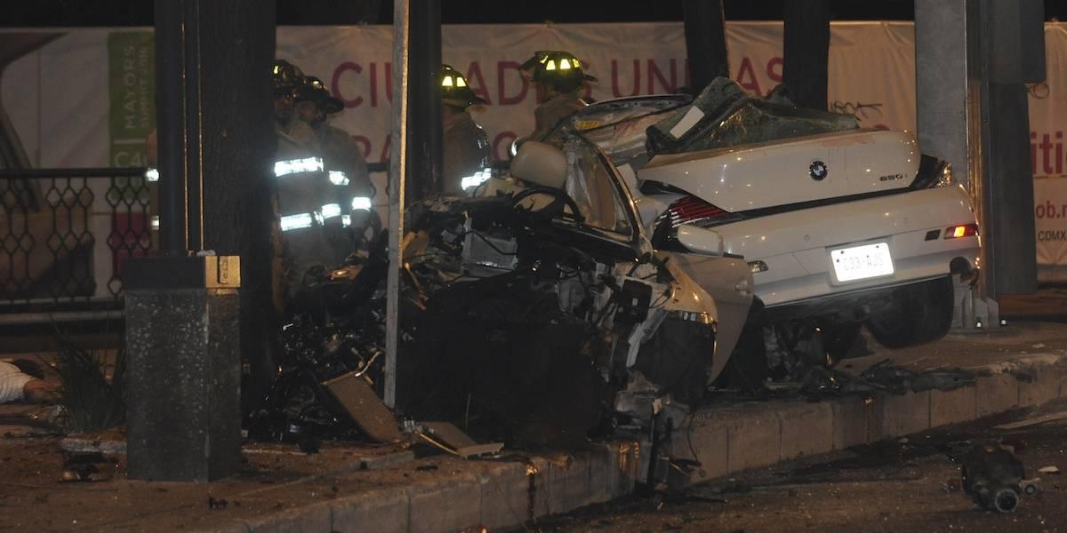 Conductor de BMW accidentado en Reforma podría salir libre: abogado