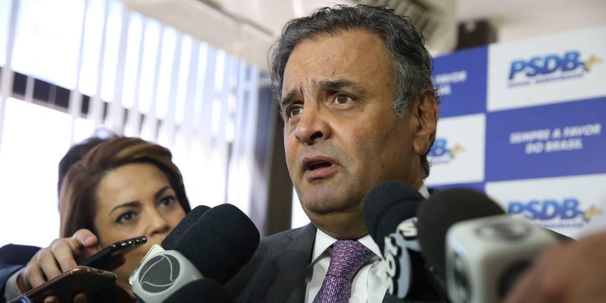 Ministro do STF quebra sigilos fiscal e bancário de Aécio desde 2014
