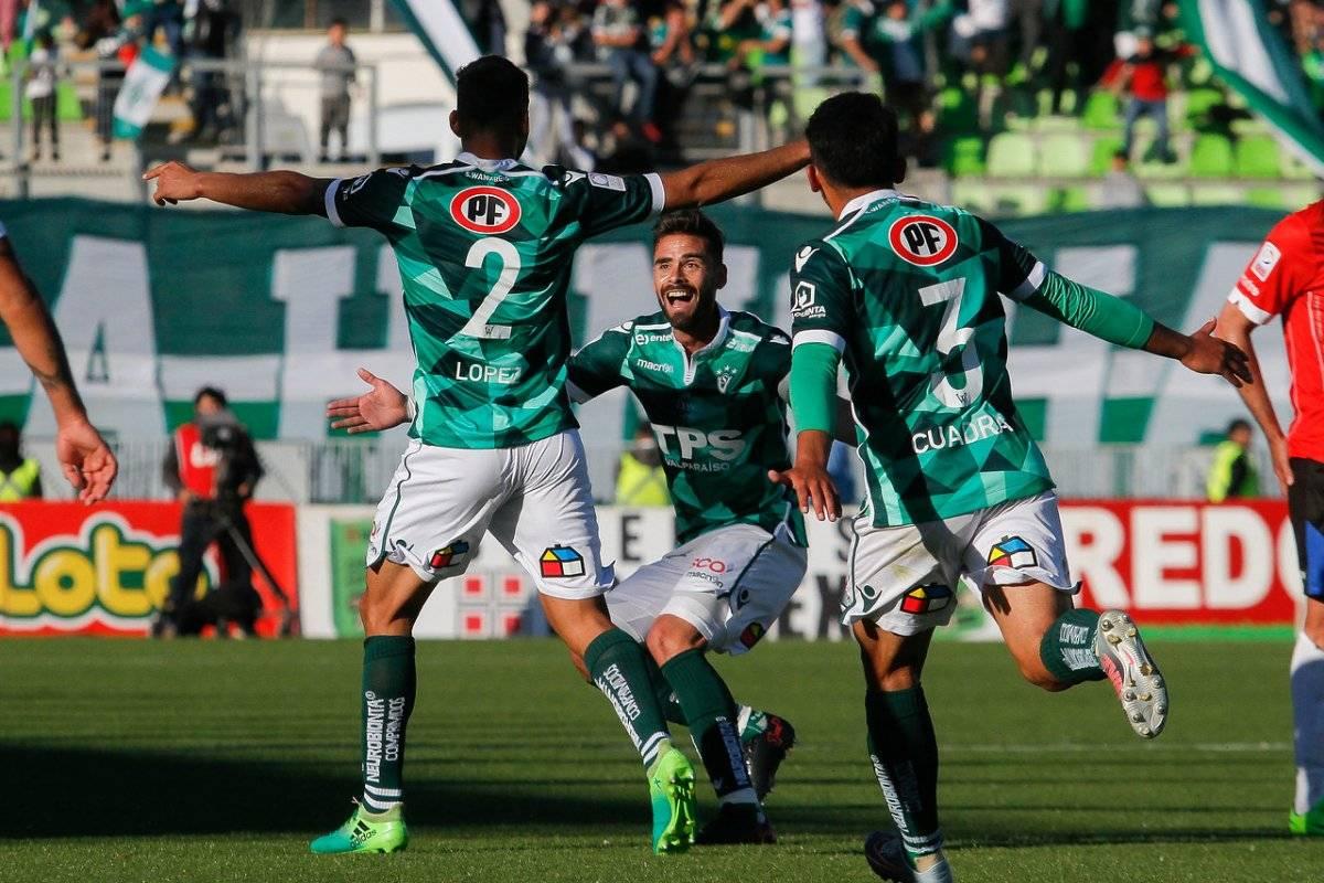 Santiago Wanderers no pudo aguantar la ventaja / imagen: Agencia UNO