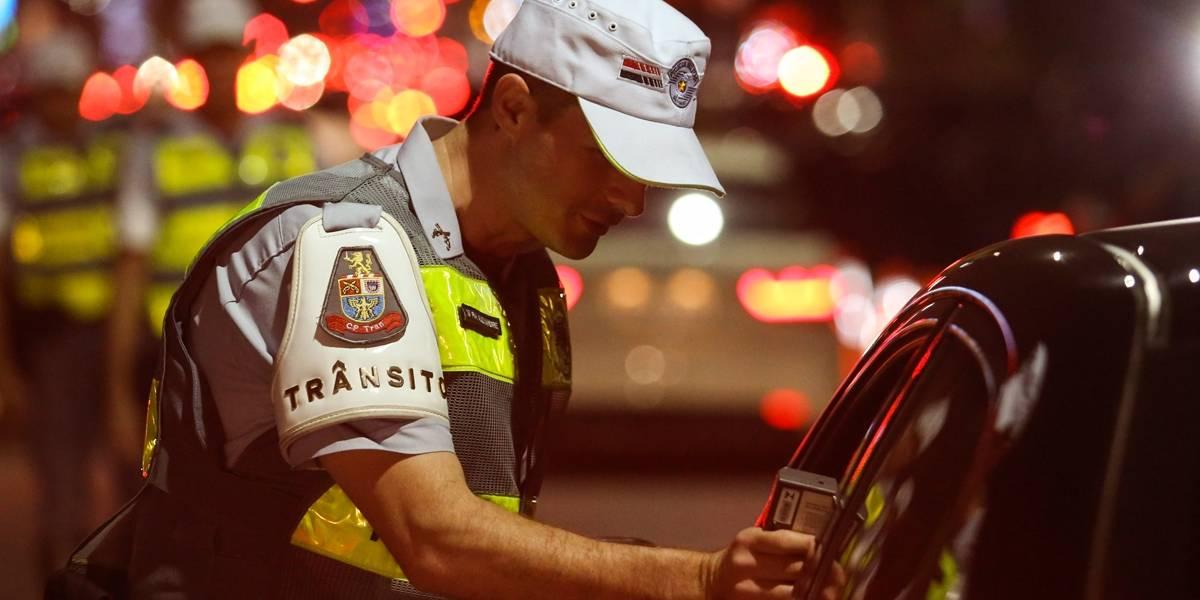 Mais de 100 motoristas são autuados pela Lei Seca em São Paulo