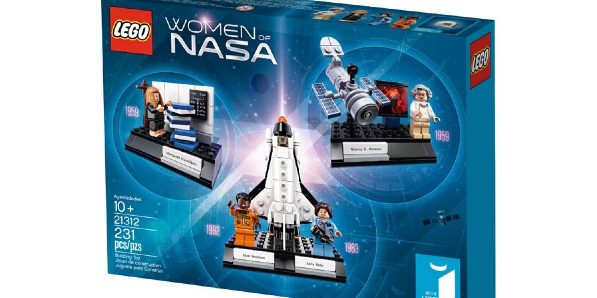 Lego presenta figuras en homenaje a mujeres astronautas y científicas de la NASA